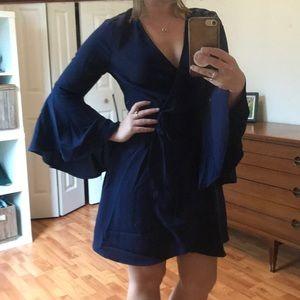 NWT Lulus Boho Wrap Dress